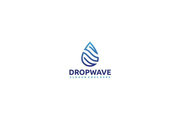 Wave Drop Logo