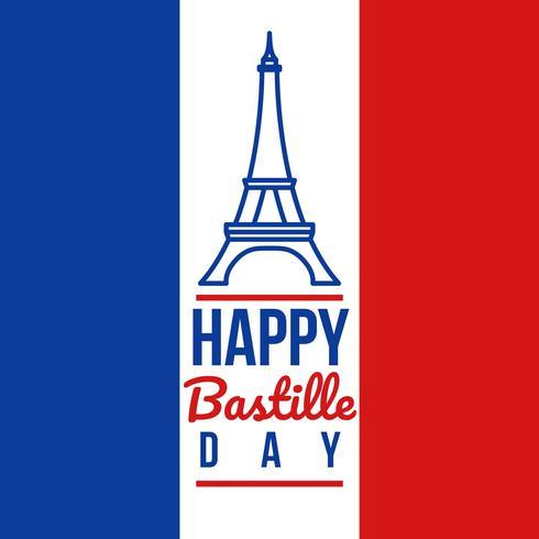 gelukkige bastille-dag