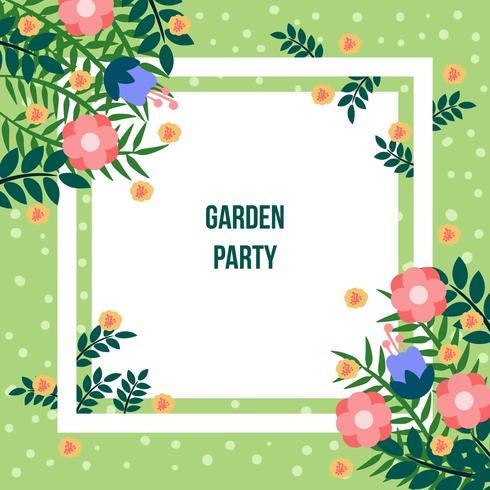 Garten Party Einladung