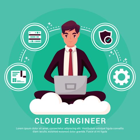 Cloud Engineers Illustration