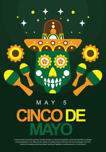 Cinco De Mayo Poster-Display