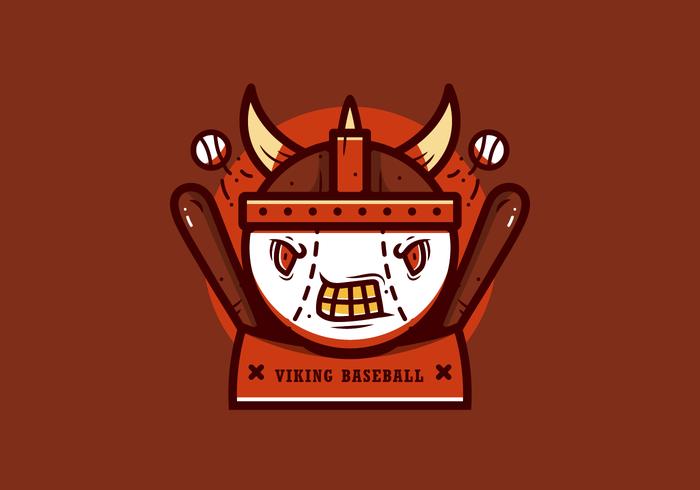 Honkbal Mascotte Vector