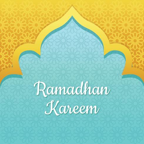 Ramadhan Kareem achtergrond