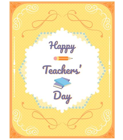 Teacher's Day Vectoren