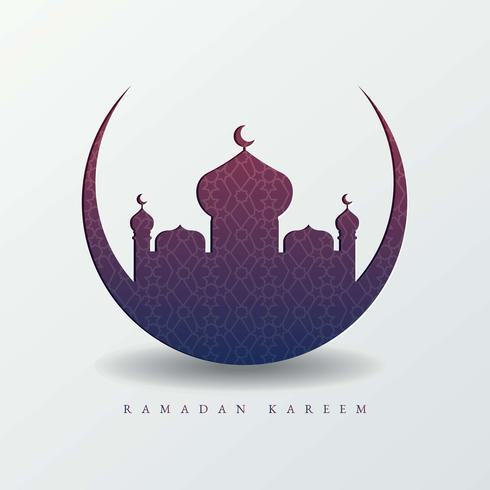 Ramadan Background Illustration