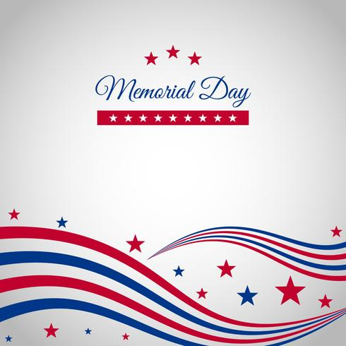 Memorial Day Vector Decorations
