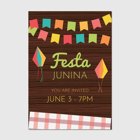Festa Junina Flyer Template