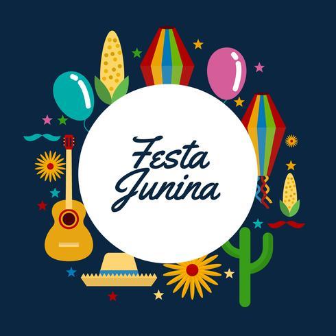 Vecteur de Festa Junina