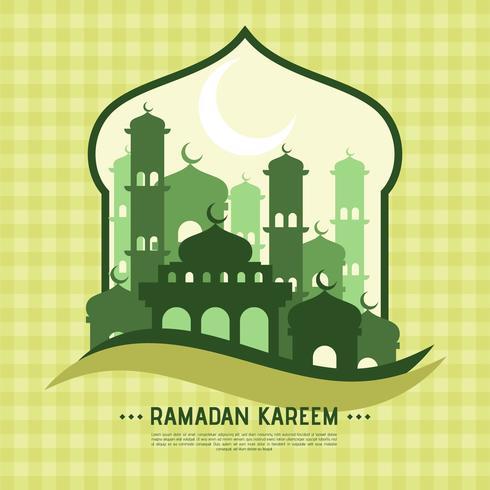 Ramadan Hintergrund