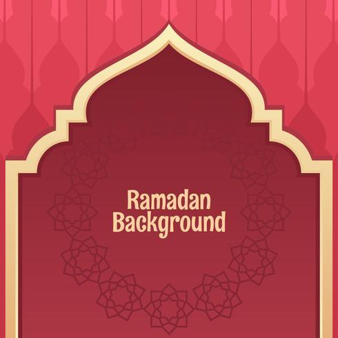 Vetor de fundo do Ramadã