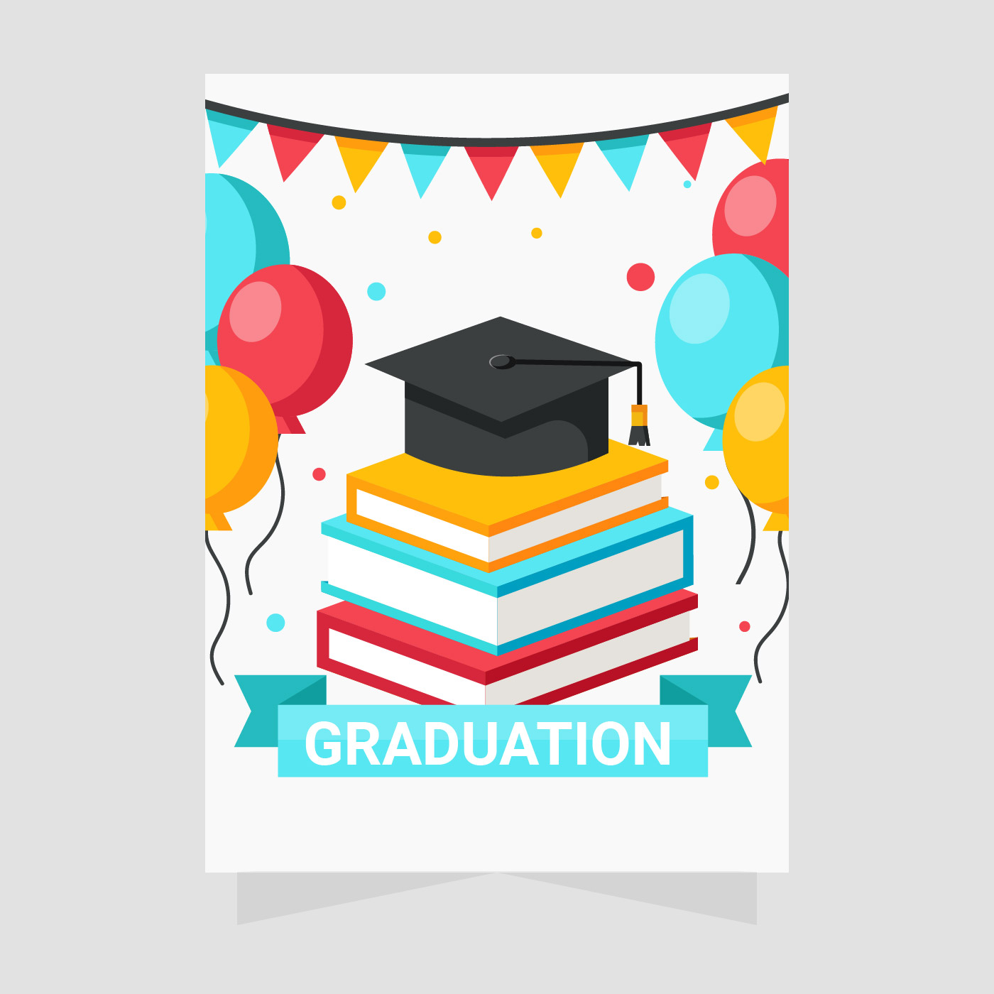 Graduation Greeting Cards Vector Download Free Vector Art Stock