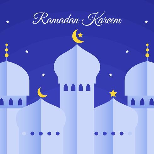Ramadan Kareem Vector achtergrond