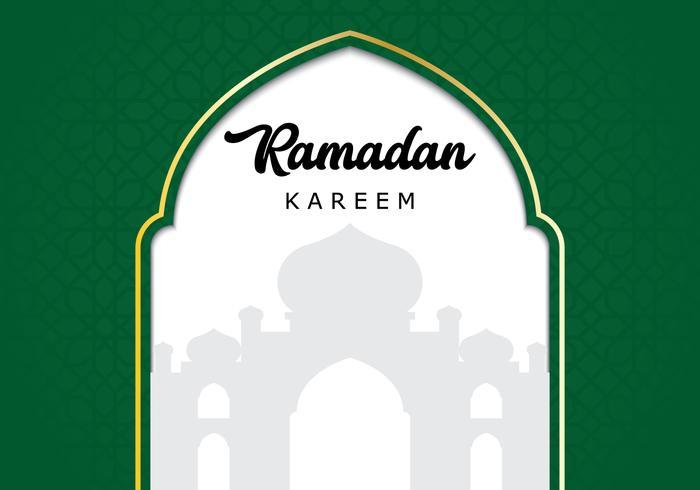 Fond de mosquée Ramadan