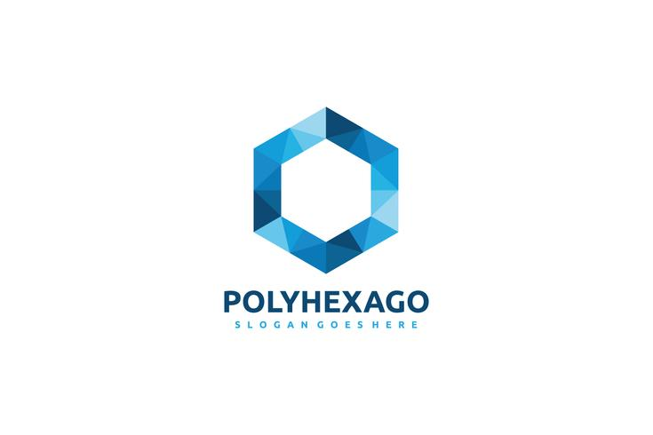 Polygonal Hexagon-logo
