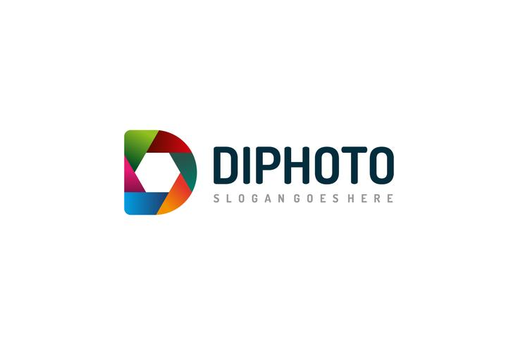 D Letter -Photography Logo