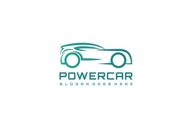 Modern auto-logo