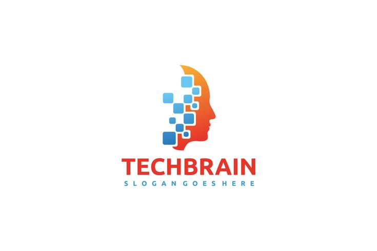 tech hjärnlogo