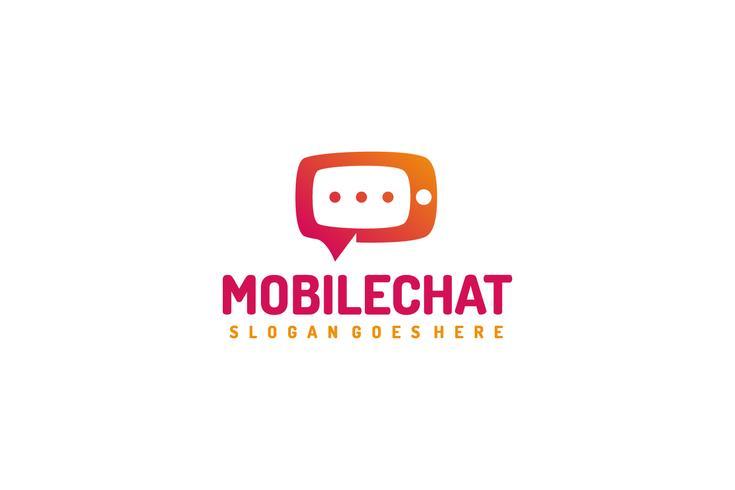 Mobile Chat Logo