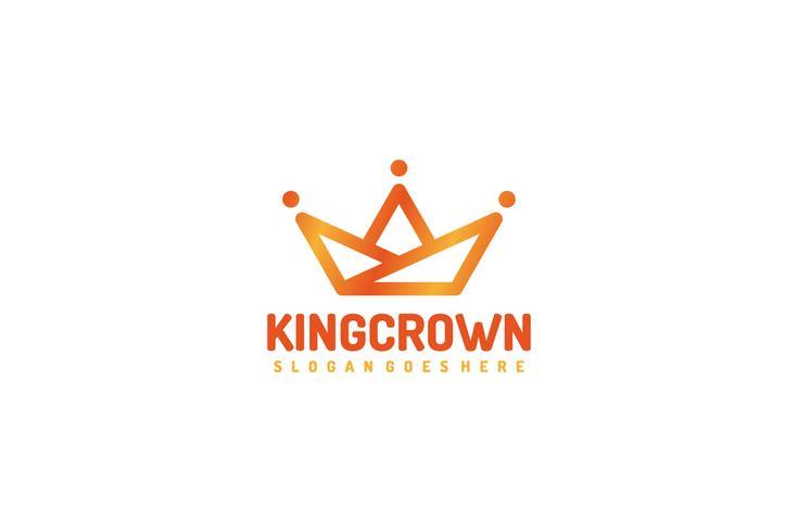 King Crown Logo vector