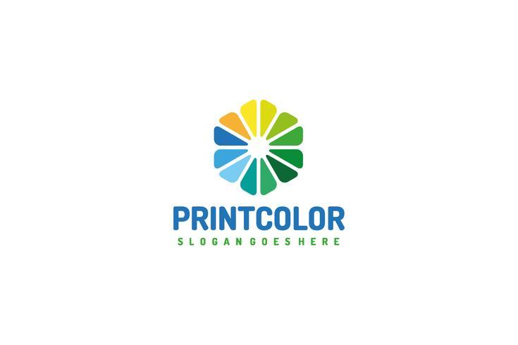 Logotipo de impresión y medios