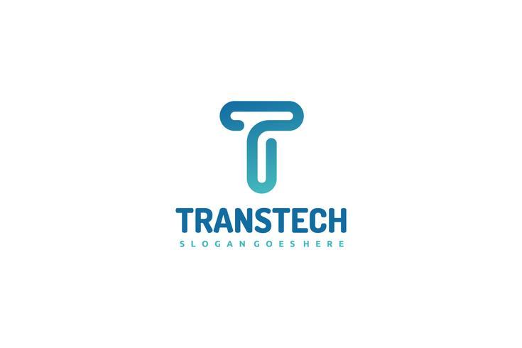 T Lettre Logo