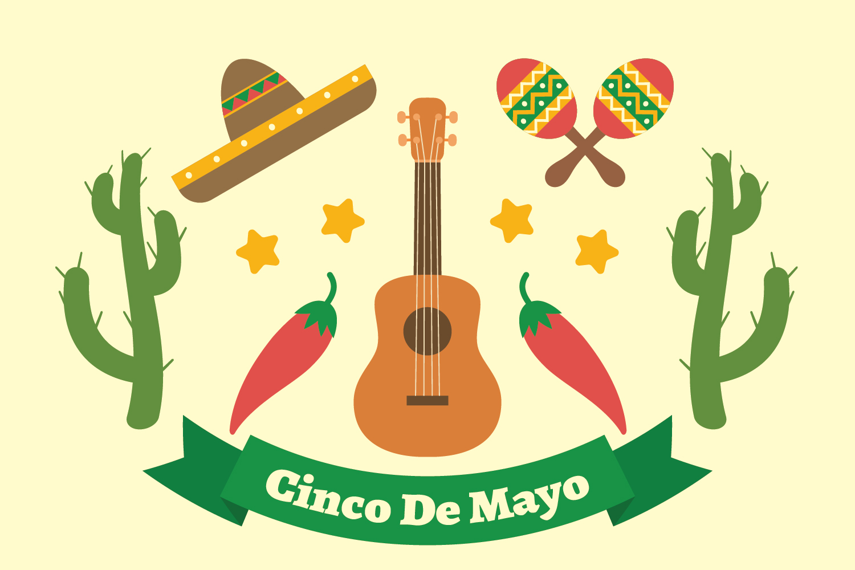 Cinco De Mayo Background - Download Free Vector Art, Stock ...