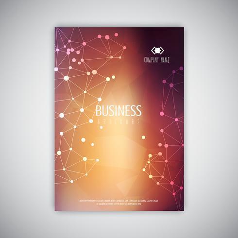 Bbstract brochure design