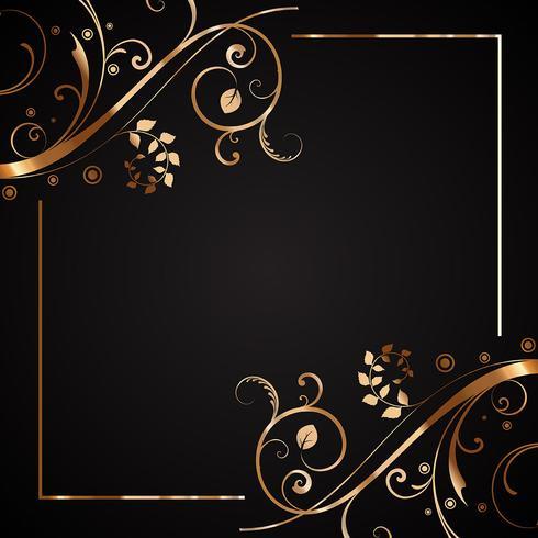 Dekorativ ram vektor
