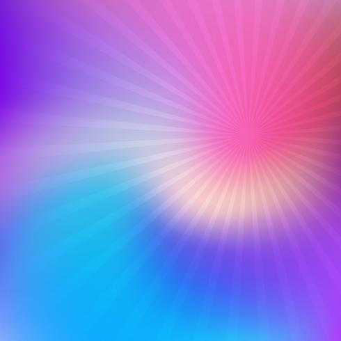 Abstract blur with starburst  vector