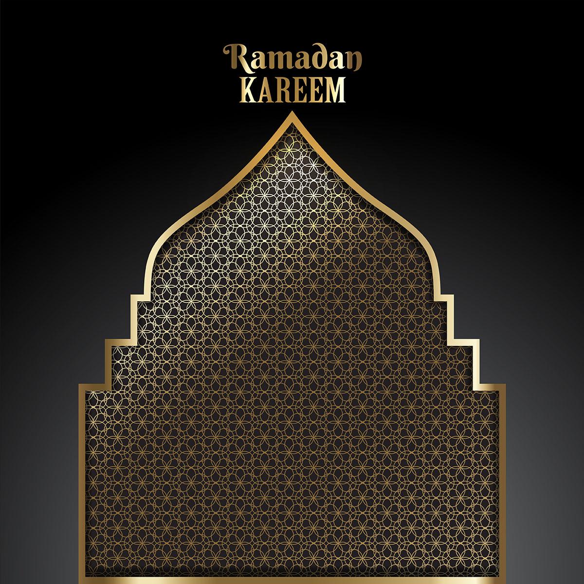 Decorative Ramadan background - Download Free Vector Art