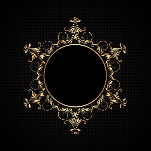 Luxury frame background
