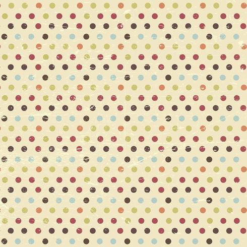 vintage polka dot background download free vector art