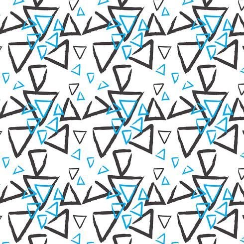 Hand drawn pattern background