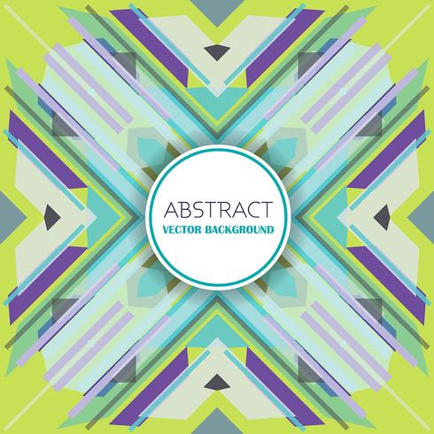 Abstract background with retro styled design