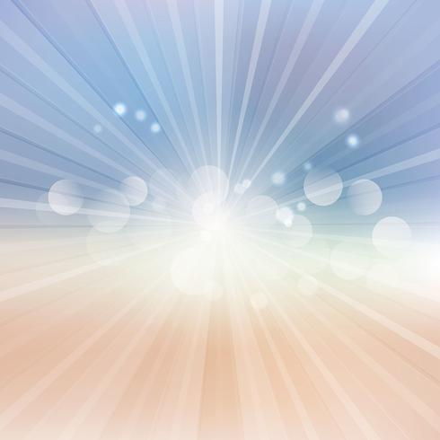 Abstract sunburst background