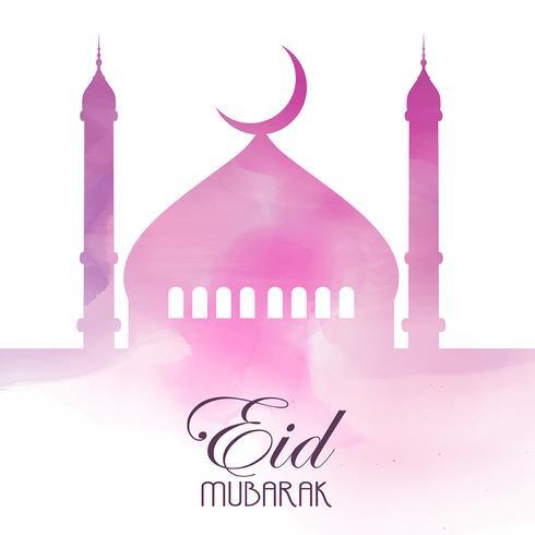Fond d'Eid Mubarak