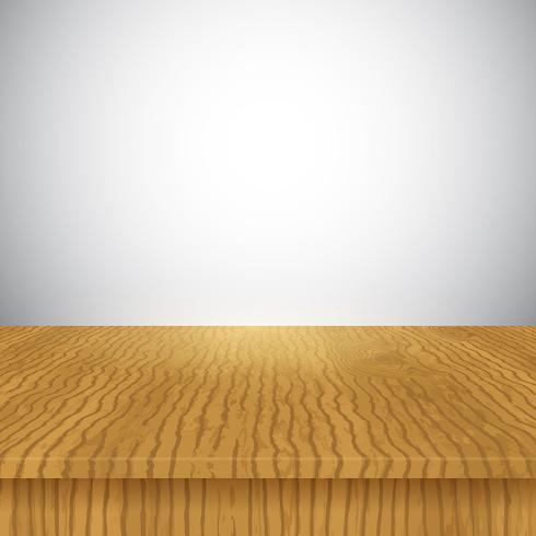 Wooden table display background