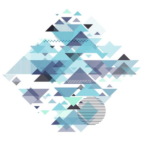Abstract geometrisch ontwerp