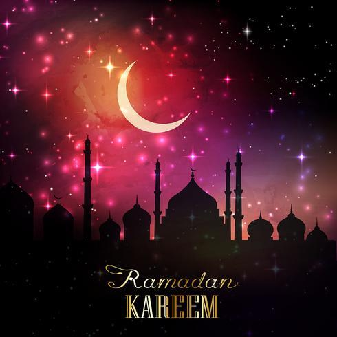 Ramadan-Hintergrund 1605 vektor