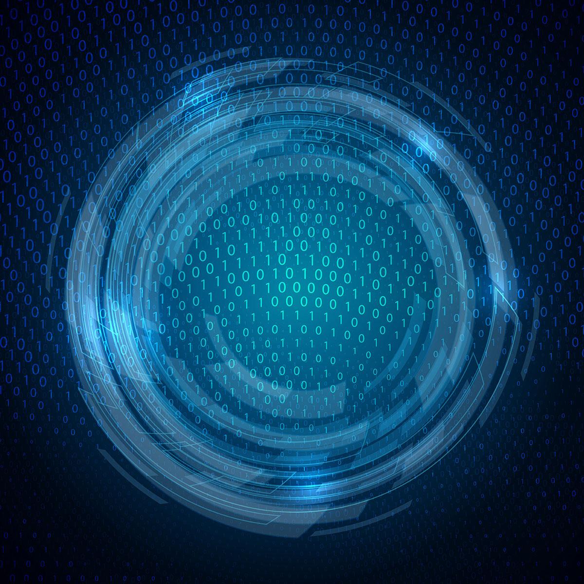Techno binary code background download free vector art - Binary background gif ...
