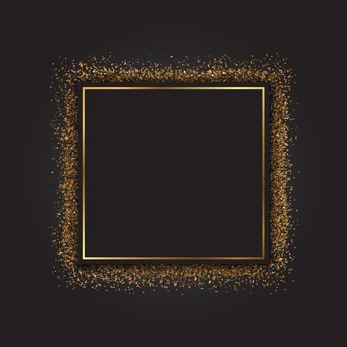 Guldglitterram