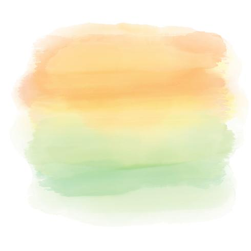 Abstract watercolor sunset background
