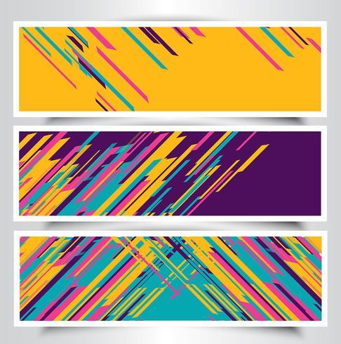 Modern banner designs