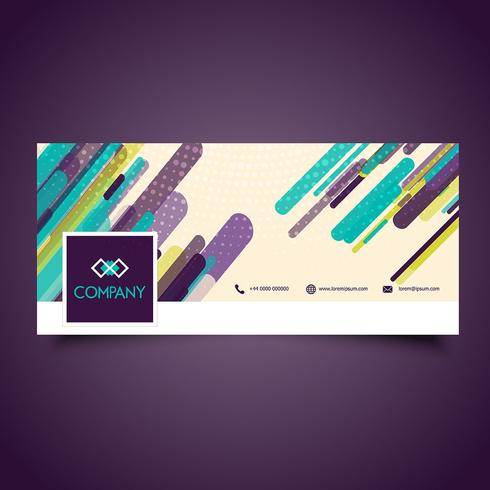 Business facebook header design