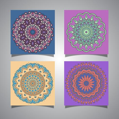 Collection of mandala designs