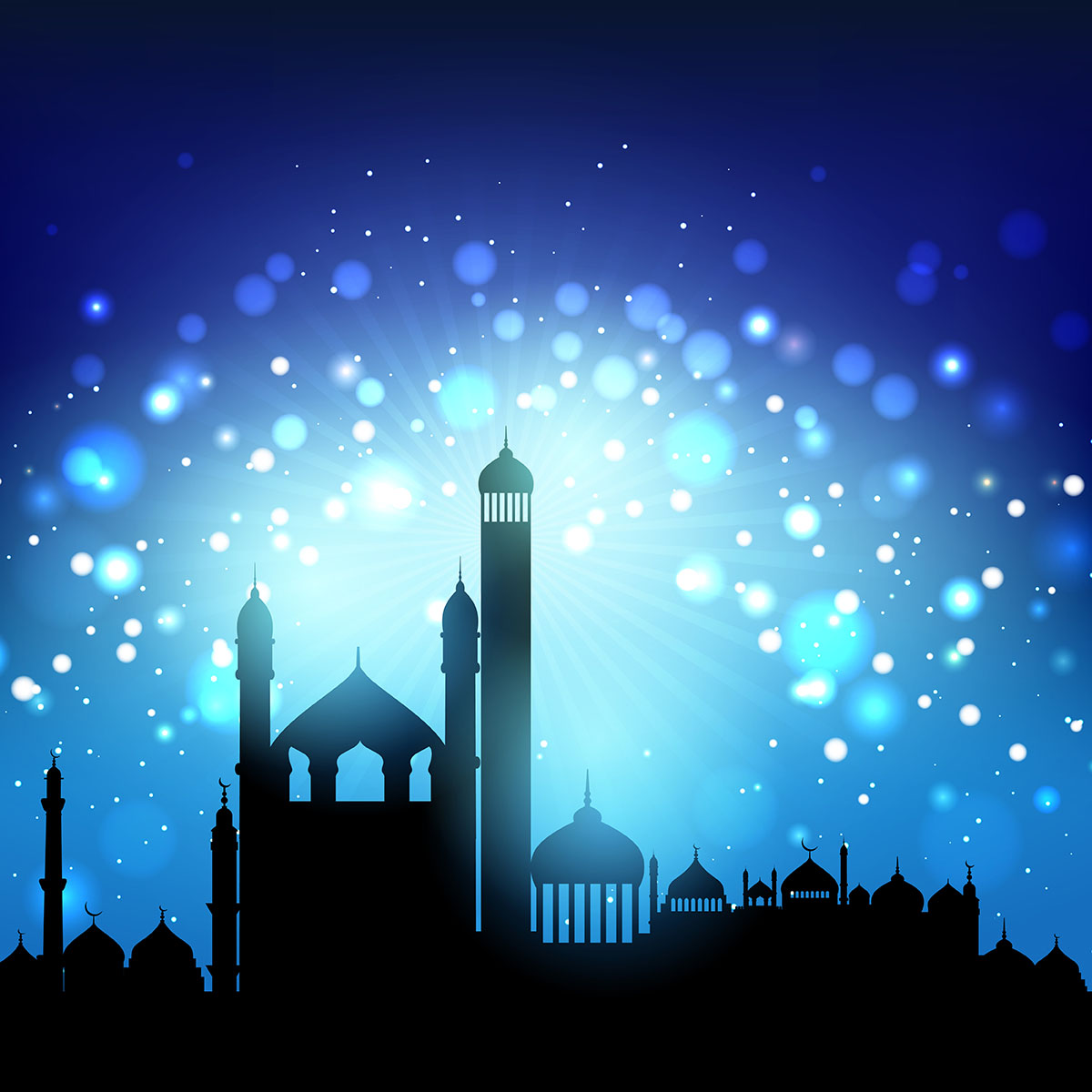 Silhouette Of Mosques Download Free Vector Art Stock