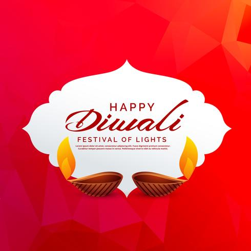 diwali festival background vector design