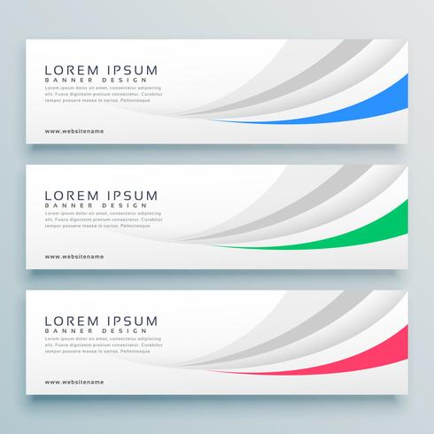 modern clean web banner or header design background