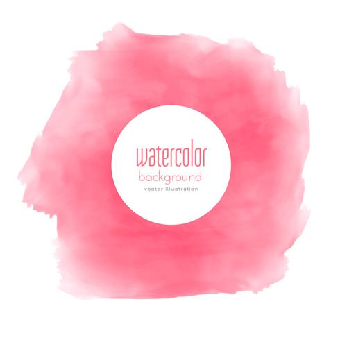 watercolor pink stain texture background