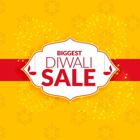 awesome diwali sale background vector design